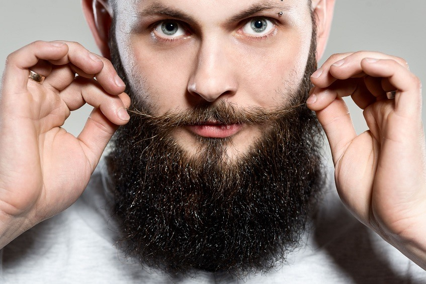 a full grown beard after using one of the best beard growth kits