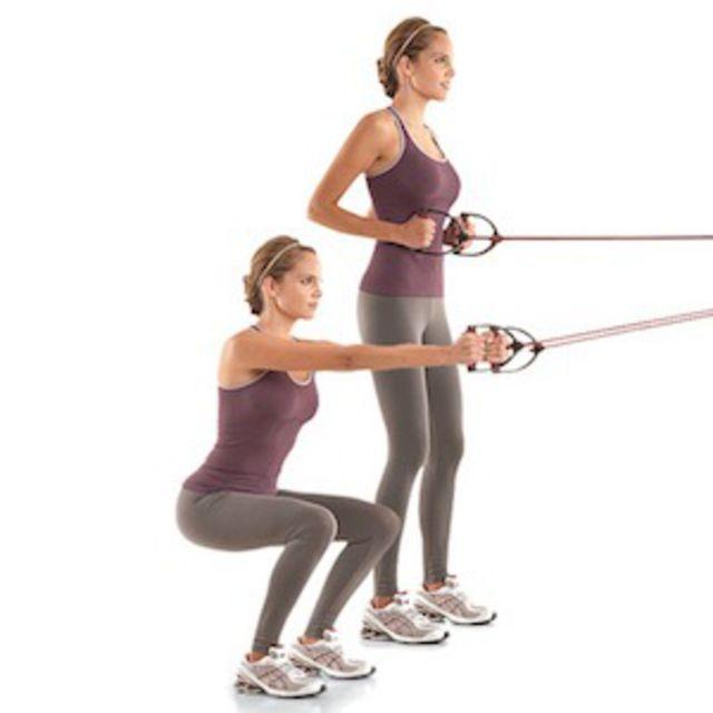 cable squats 101